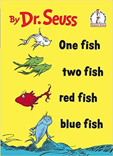 dr. seuss one fish