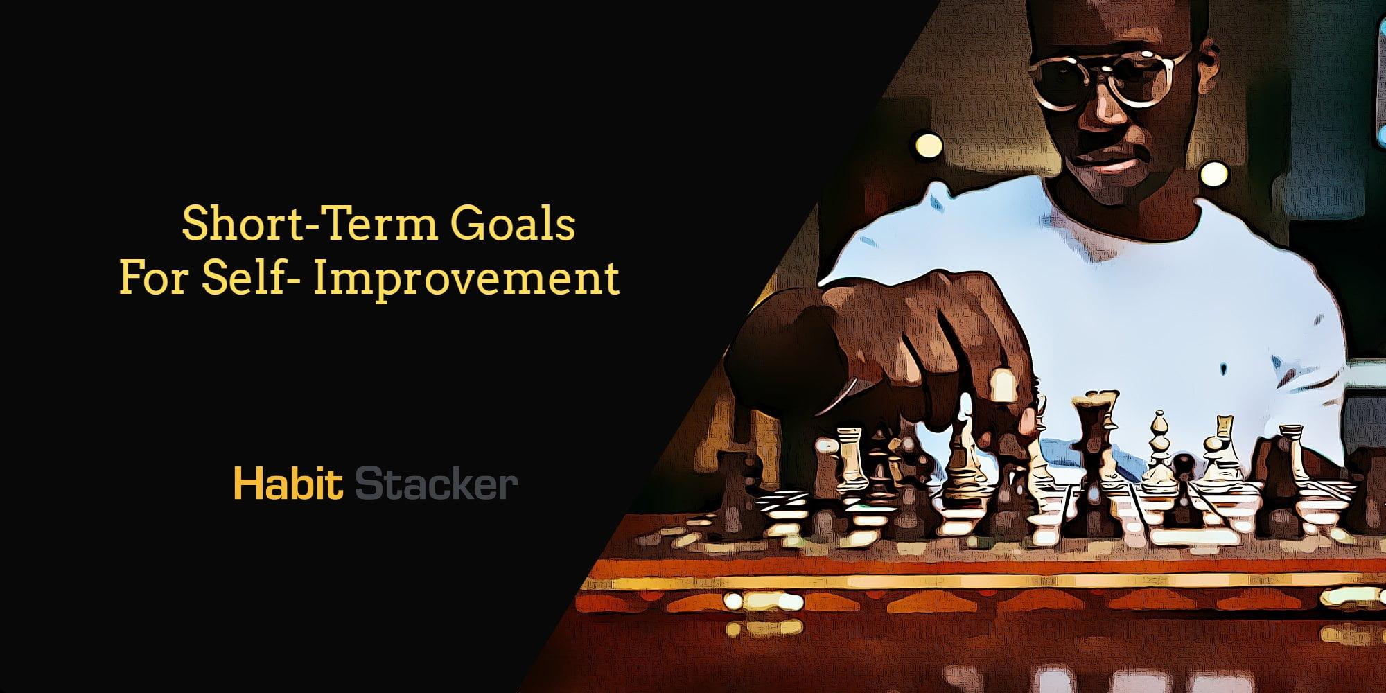 short-term goals for self improvement