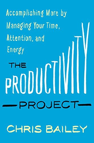 Productivity Project - Time Management