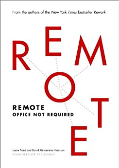 Remote - best books for starting a business