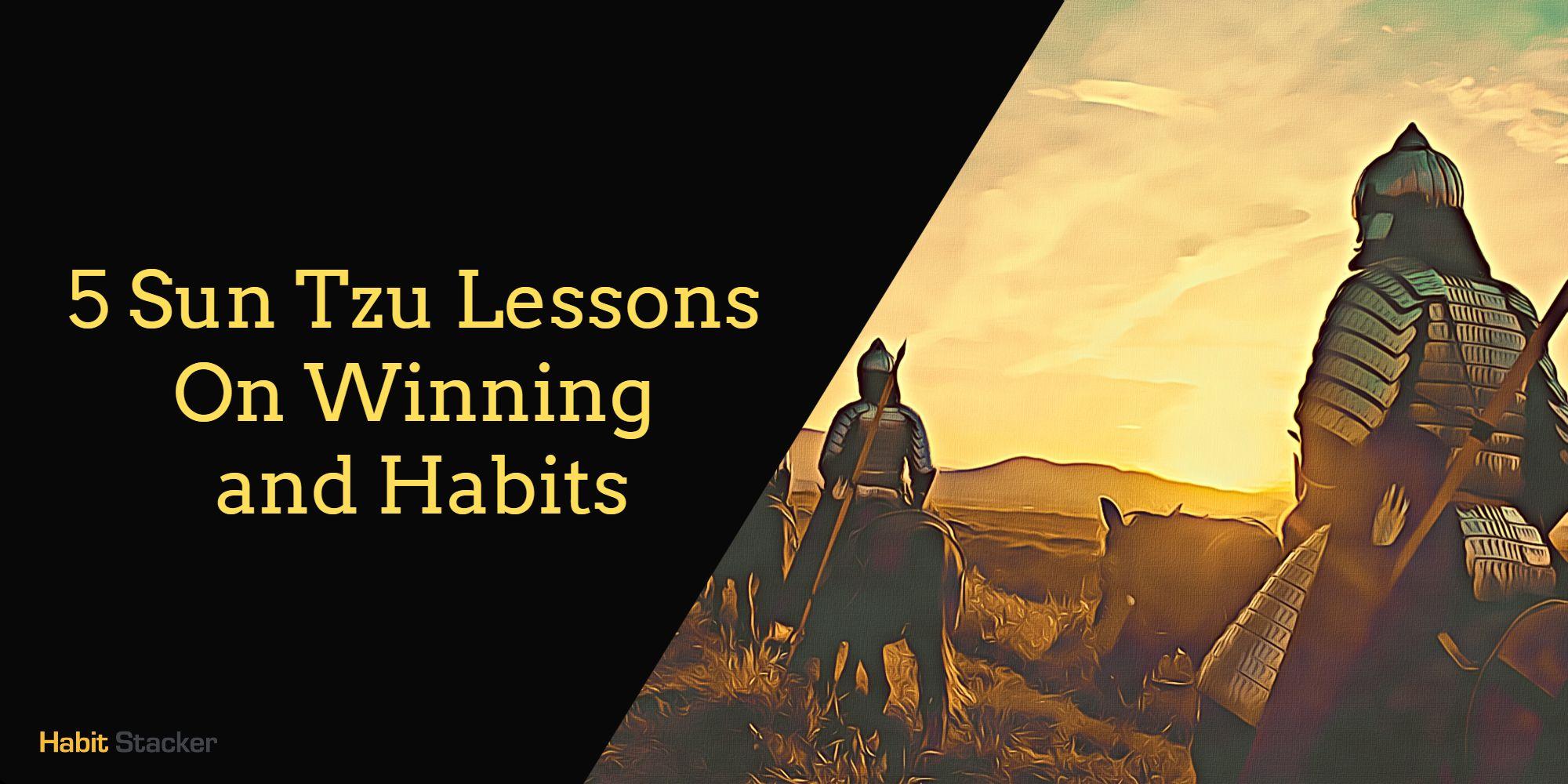 Sun Tzu Lessons