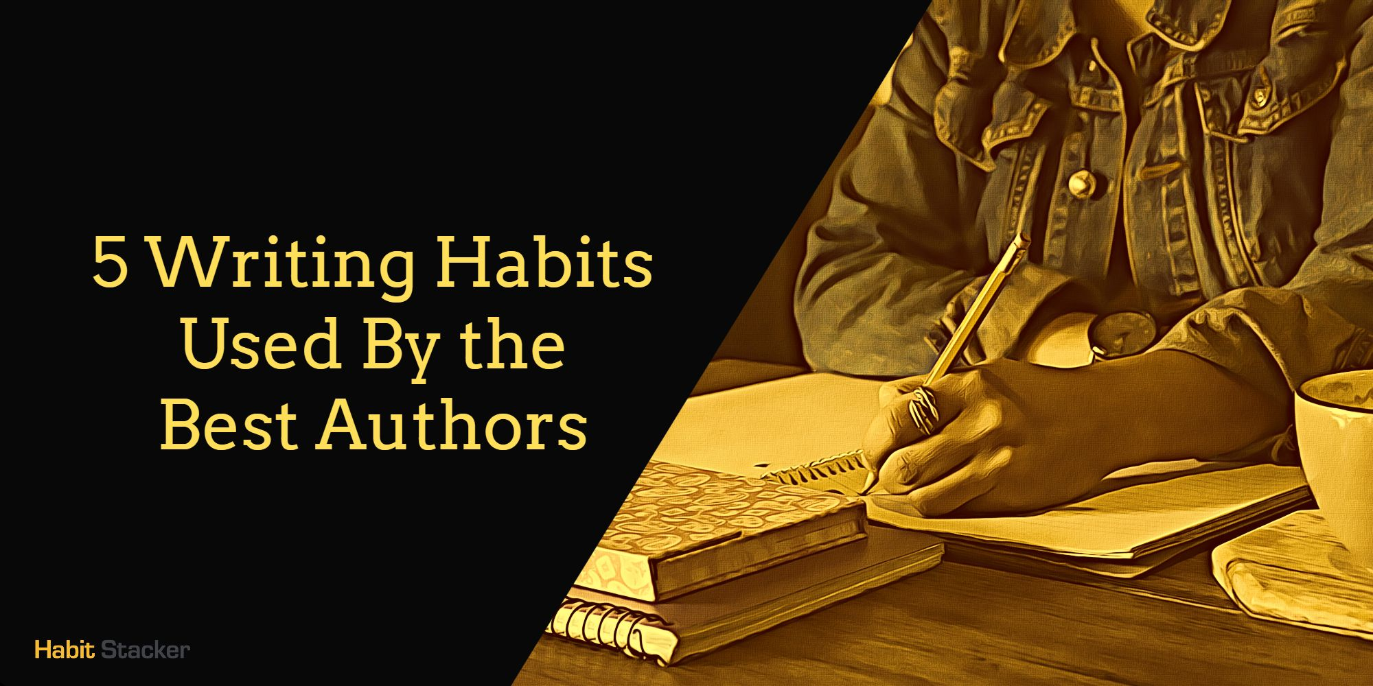 writing habits writer's work