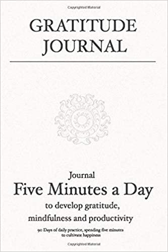 Gratitude Journal - Sunday Quotes