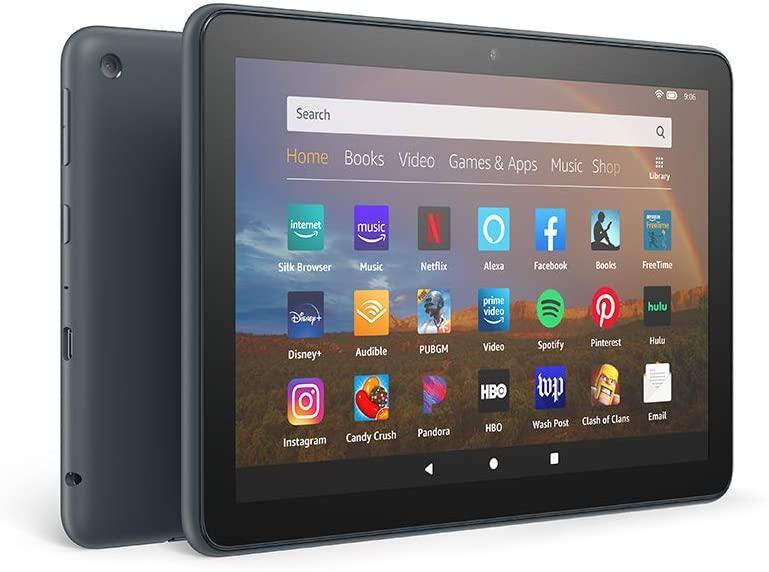 Fire HD 8 Plus tablet, HD display, 32 GB