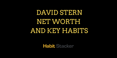 David Stern Net Worth