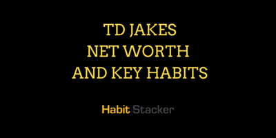 TD Jakes Net Worth